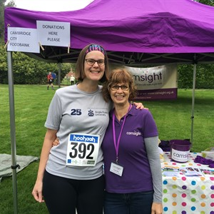 Kez's Cambridge Half Marathon for Cam Sight