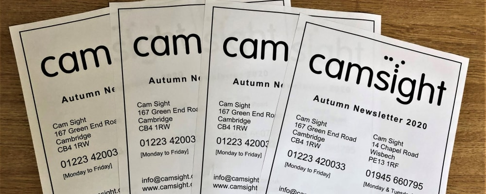 Cam Sight Autumn Newsletter