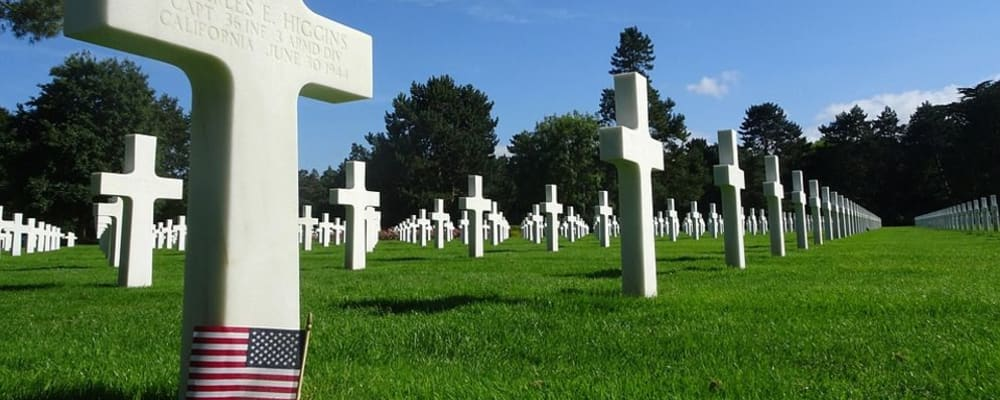 A visit to the Cambridge American Cemetery