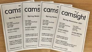 Cam Sight Spring Newsletter
