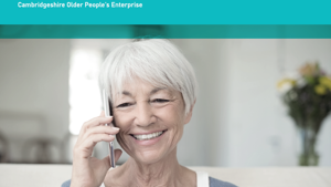 Telephone-based discussion groups for older adults